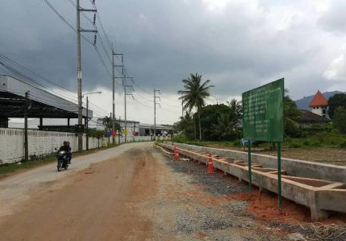 La route d'accès populaire au British International School a ré-ouvert temporairement