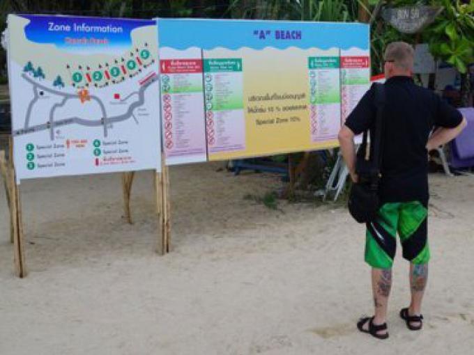 Les zones à 10% de Phuket restent