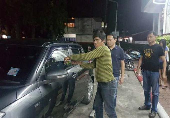 Le voleur de Phuket Town attrapé