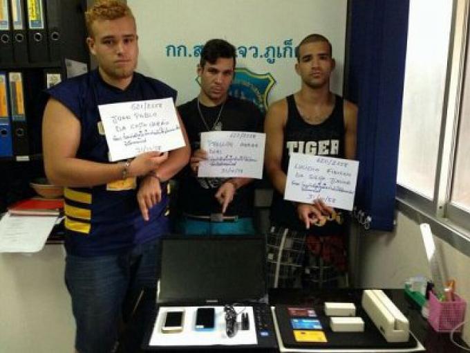 Le signal de GPS de l'IPad volé sur Koh Tao, a mené la police de Phuket aux suspects brésiliens e