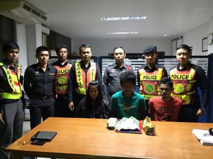 La police saisit 2 kilos de crystal meth à un point de contrôle de Phuket