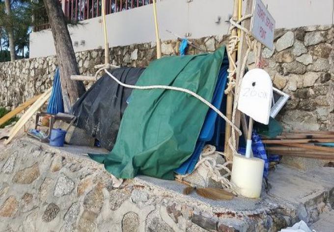 La tour des sauveteurs de la Plage de Kata Noi sera déplacée