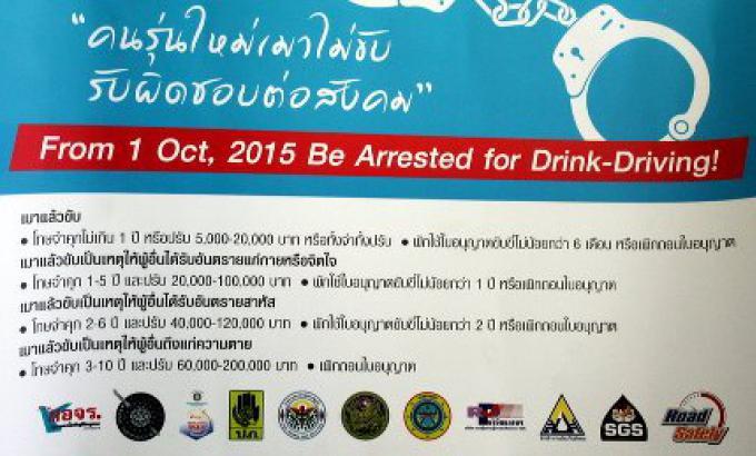 Phuket Avis : Meurtre par la malédiction, la conduite en état d'ivresse