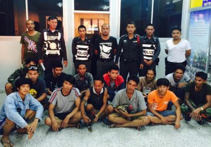 13 personnes arrêtés dans un raid, pour combats de coqs