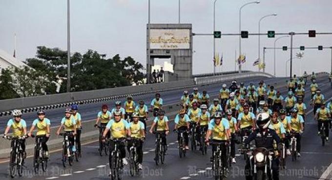 600.000 personnes enregistrées pour le 'Bike for Dad'