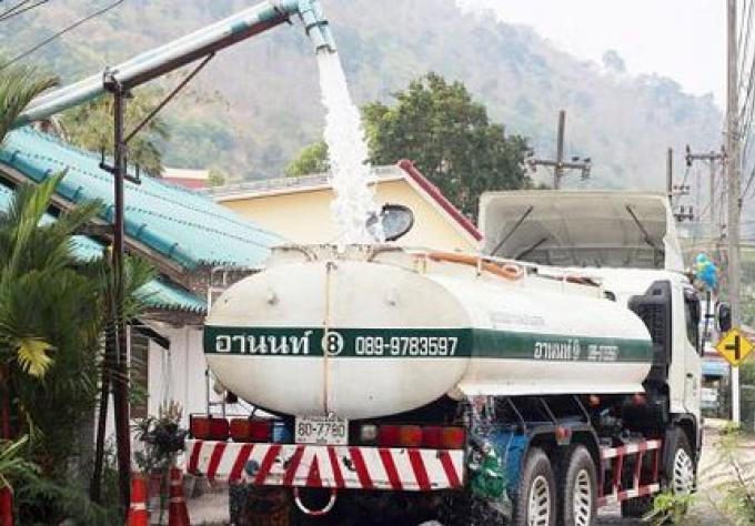 Le manque d'eau au coeur des résidents de Phuket