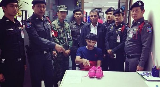 Un employé de l'aéroport de Phuket arrêté pour vol