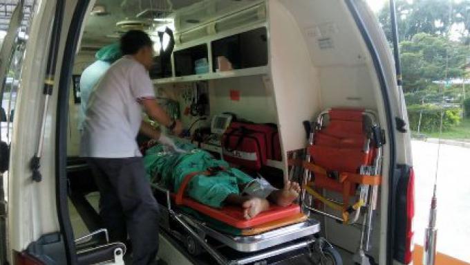 L'épouse prétend que son mari a fait une tentative de suicide