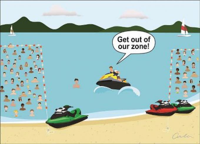 Opinion: Maintenir la pression pour débarrasser Phuket des jet-skis