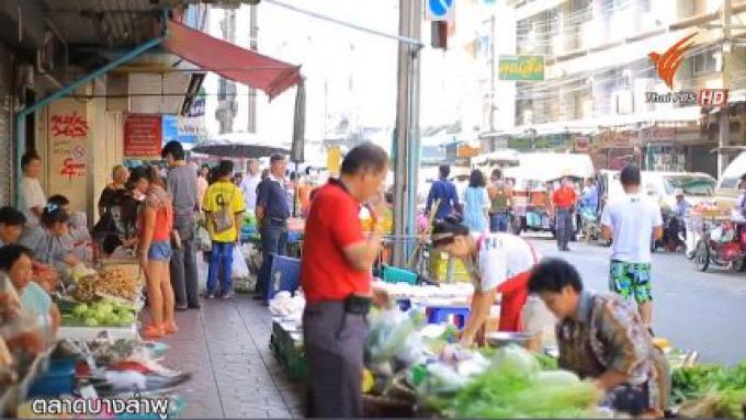 La restauration des trottoirs à Bangkok sans marchés illégaux dessus