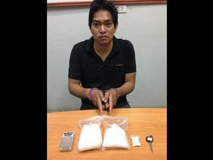 Un trafiquant de drogue à Phuket arrêté avec plus de 500 grammes de Ya Ice