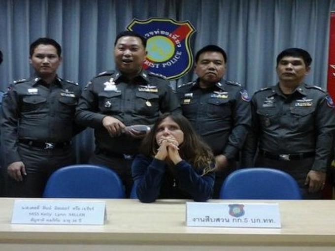 Fugitive attrapée avec son fils nouveau-né en Thailande