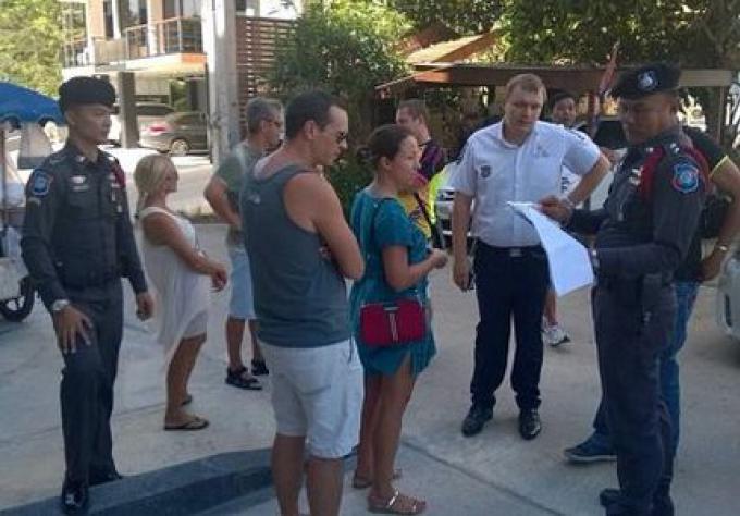La Police touristique de Phuket a arrêté une femme russe travaillant illégalement comme agent imm