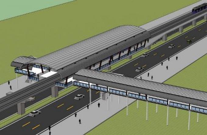 Le projet du train leger sur rail va de l'avant
