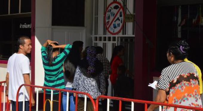 Les prisonniers de Phuket obtiennent «du temps en famille»