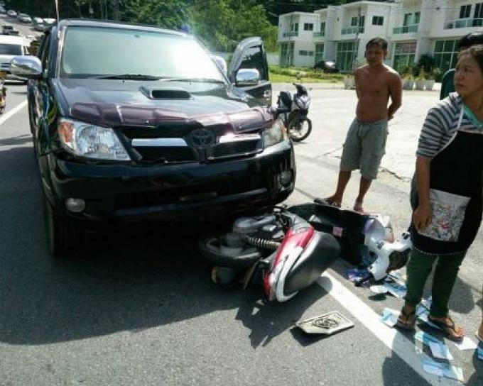 Une femme britannique, 28 ans, tuée dans un accident de scooter contre une camionnette sur la Colli