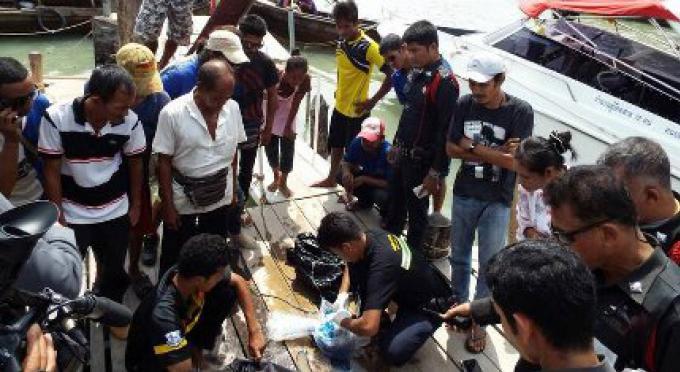 Un vétéran de la Marine retrouvé mort dans la mer au large de Phuket