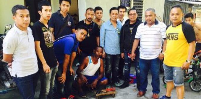 La campagne contre le crime avant Noël, a permis  d'épingler un homme armé à Patong