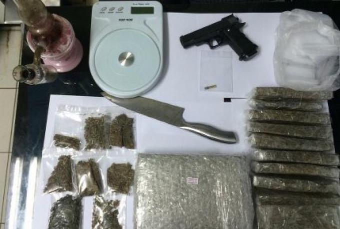 Pour finir l'année 2015, un dealer arrêté avec 11 kg de Marijuana
