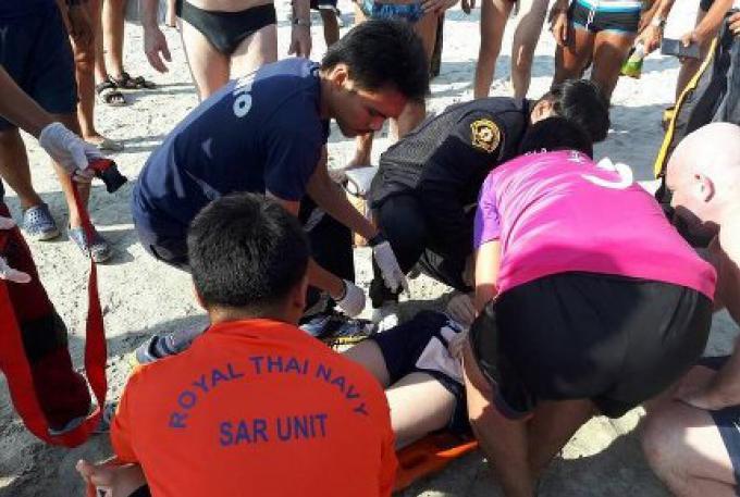 Un adolescent finlandais blessé à Phuket dans un accident de jet-ski
