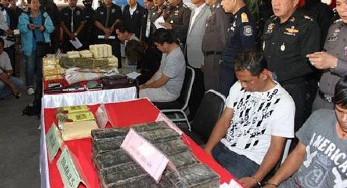 Policier «influent» arrêté à Chiang Rai
