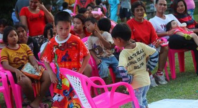 Où fête t on, le The Children's Day, aujourd'hui sur l'île