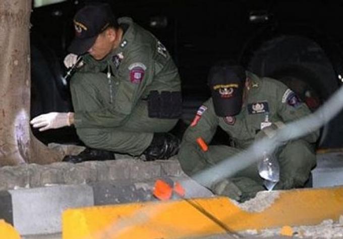 Chef de file à la bombe présumés du tribunal a été pris