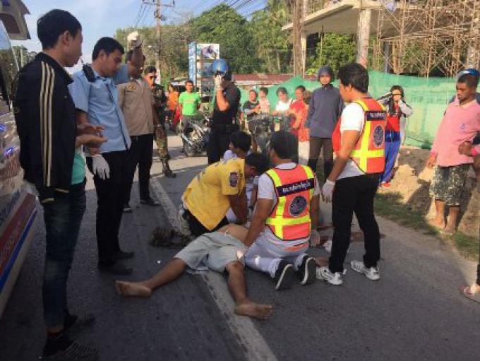 Sans casque, un homme en moto, de 36 ans , meurt de blessures à la tête après une collision avec