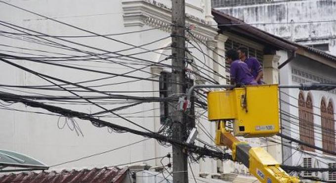 L'Electricité est coupée à Thalang aujourd'hui
