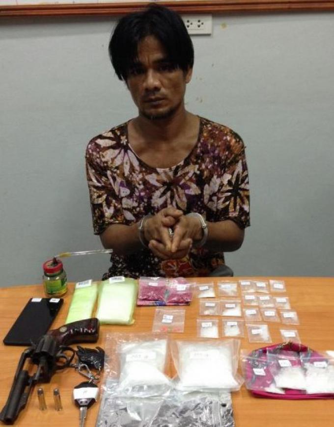 Un dealer de méthamphétamine arrêté
