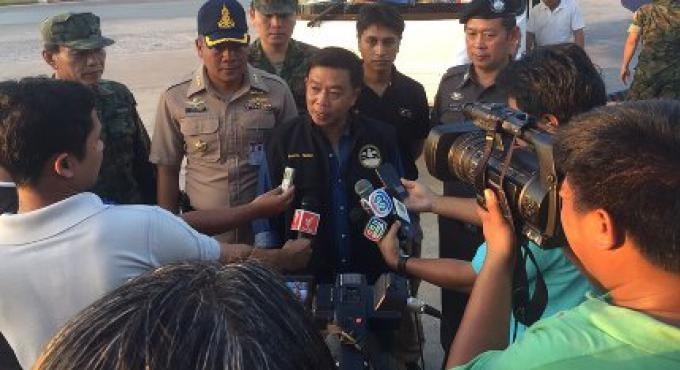 Cinq guides illégaux arrêtés à Phuket