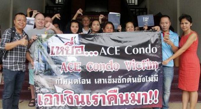 Le cas des Condos Ace encore aux mains du procureur de Phuket