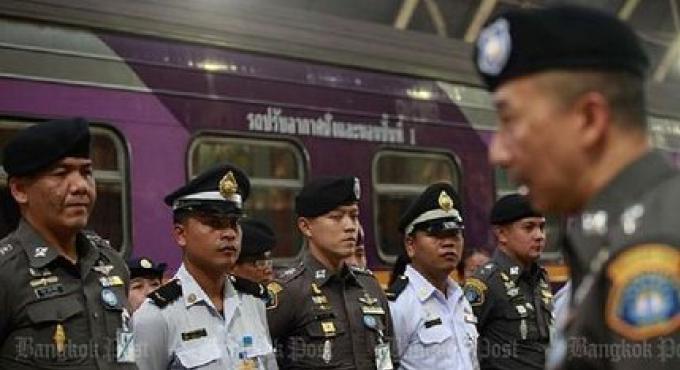 Les trafiquants retournent aux trains pour les livraisons de la drogue