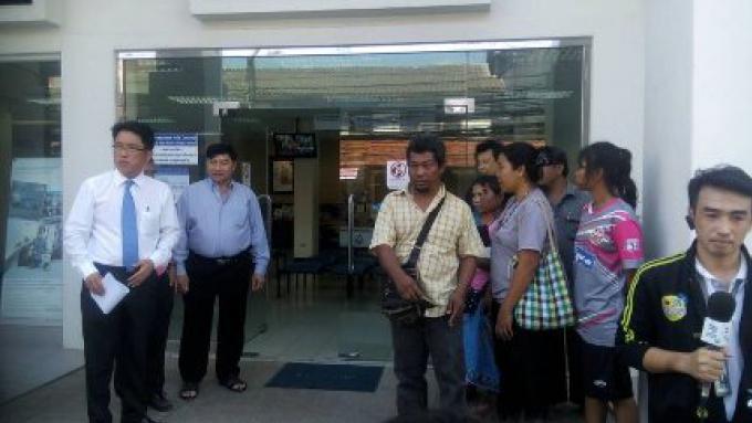 Le Gouverneur de Phuket appelle à une réunion afin de finir le conflit au sujet du terrain avec le