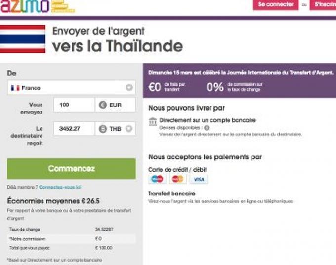 Comment transférer de l argent en Thailande