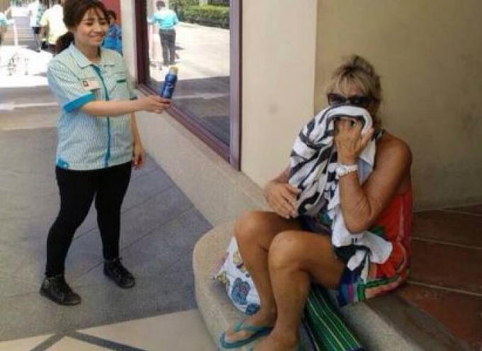 Une touriste francaise arrêtée pour vol d'une crème solaire
