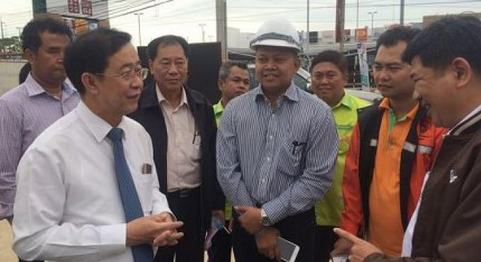 Le passage sous terrain Samkong sera ouvert le 10 Avril a dit le ministre des Transports