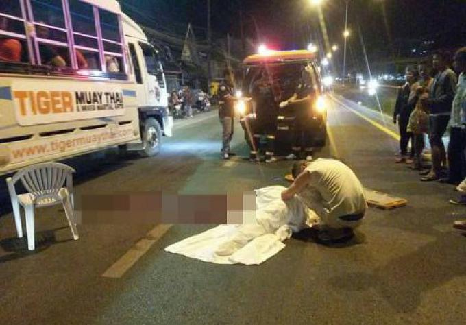 Une femme Polonaise est morte après avoir été écrasée en tentant de traverser la rue dans le su
