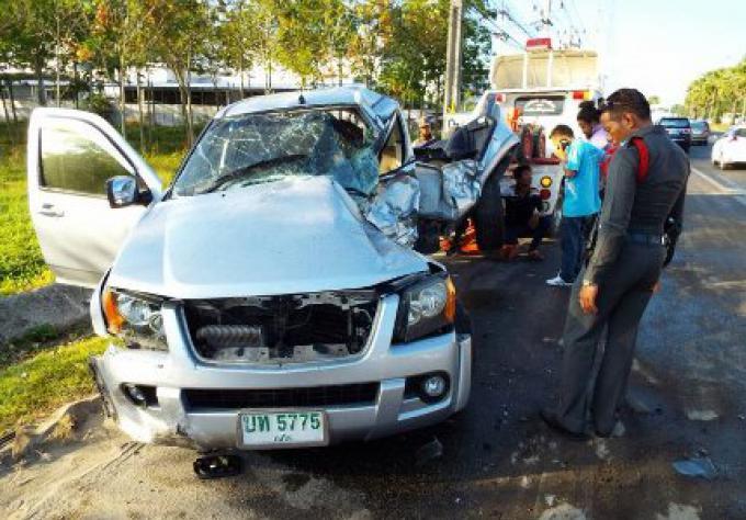 Une femme est morte, deux hommes blessés dans une collision entre 4 voitures à Phuket