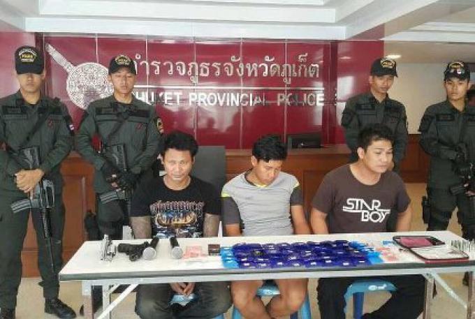 La police démantèle deux suspects pour B5mn de methamphétamine