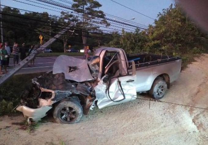 Deux hommes tués au petit matin dans 2 accidents différents sur Phuket