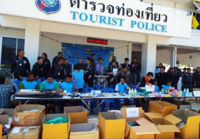 La police silencieuse sur les armes saisies au domicile du maire de Phuket