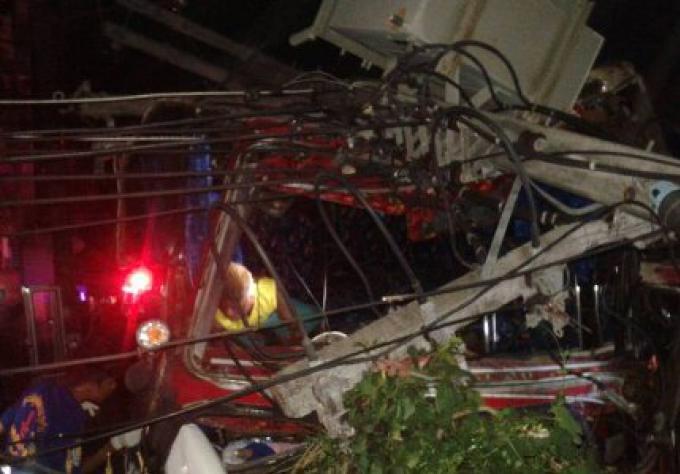Des touristes chinois blessés à Phuket dans un accident de bus sur Patong
