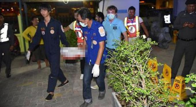 Un allemand meurt après avoir peut être sauté du Grand condotel de Patong
