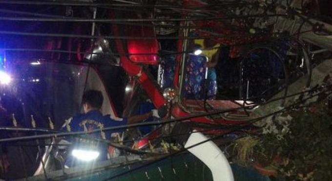 La conduite imprudente est à blâmer pour l'accident du bus de la colline de Patong a dit la police