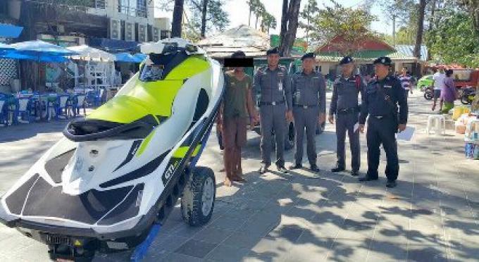 Catch and Release: opérateurs de jet-ski illégaux à Patong