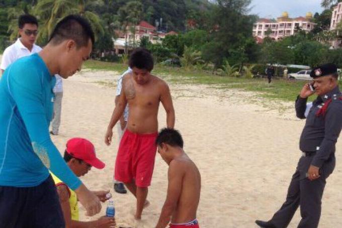 La police cherche à identifier auprès des hôtels, un homme asiatique retrouvé flottant au large