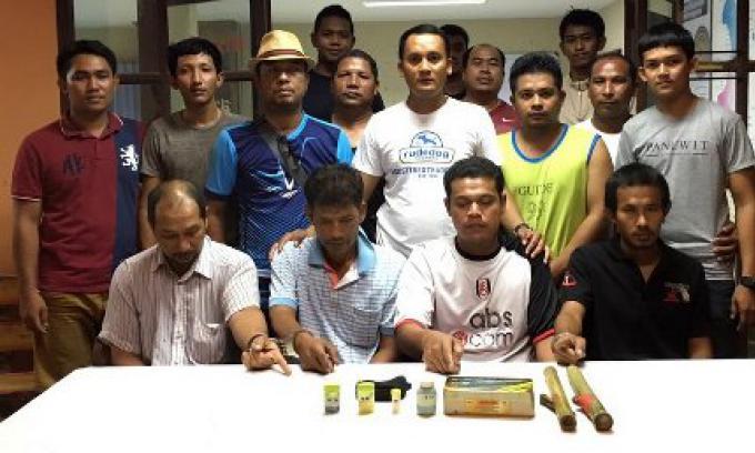 Quatre personnes ont été arrêtées à Phuket lors d un Raid pour consommation et possesion d'hér
