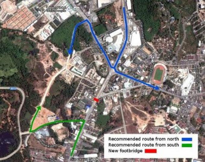 La fermeture de route de Central à Phuket reporté au 27 mars