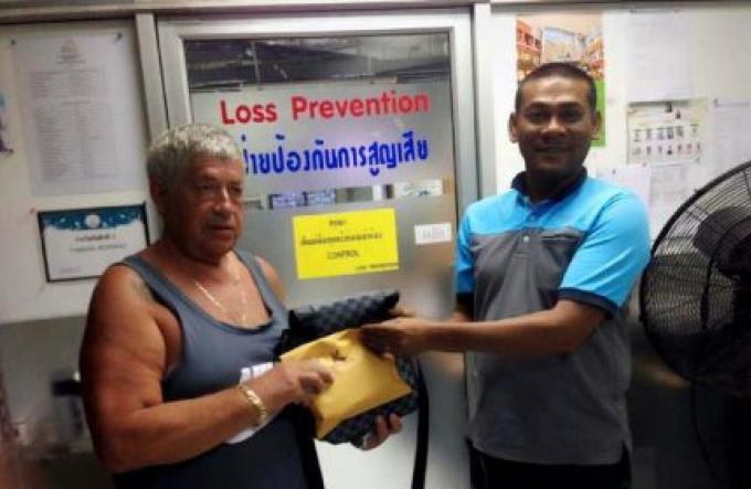 A Jungceylon un gardien de la sécurité retourne le cash perdu au touriste